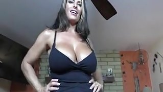POV StepMom Tits are better than his GF