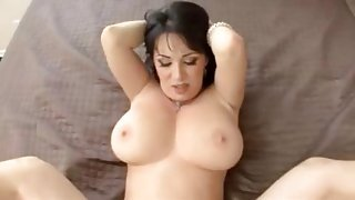 POV sex with curvy milf beauty