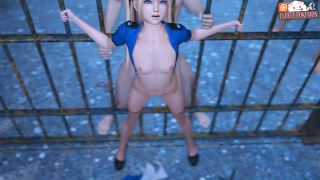 Prison Guard Marie Rose Takes Care of Prisoners
