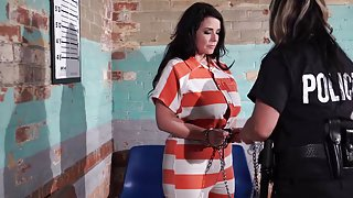 Girl on girl prison bondage