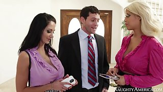 Ava Addams & Bridgette B. & Preston Parker in Naughty Office